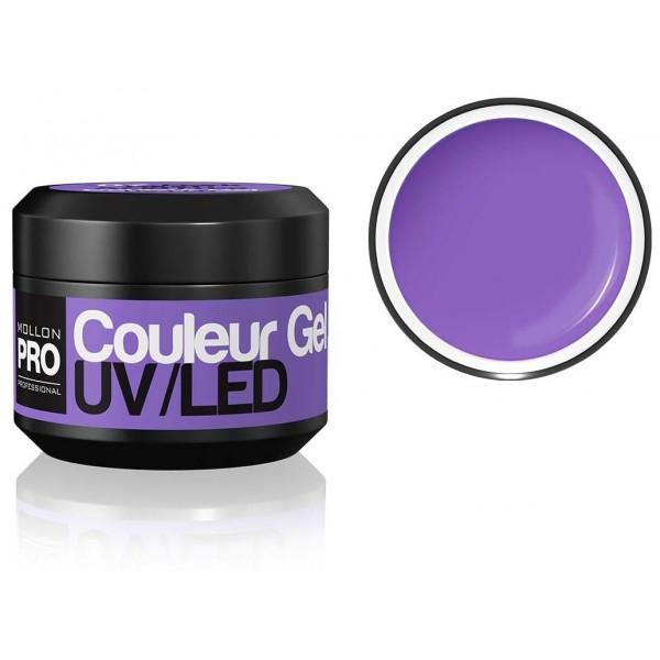 Farbe UV-Gel-dunkle Pflaume Mollon Pro - 07