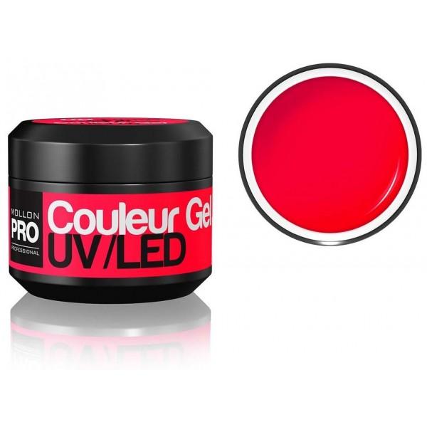 gel di colore UV Mollon Pro rosa intenso - 09