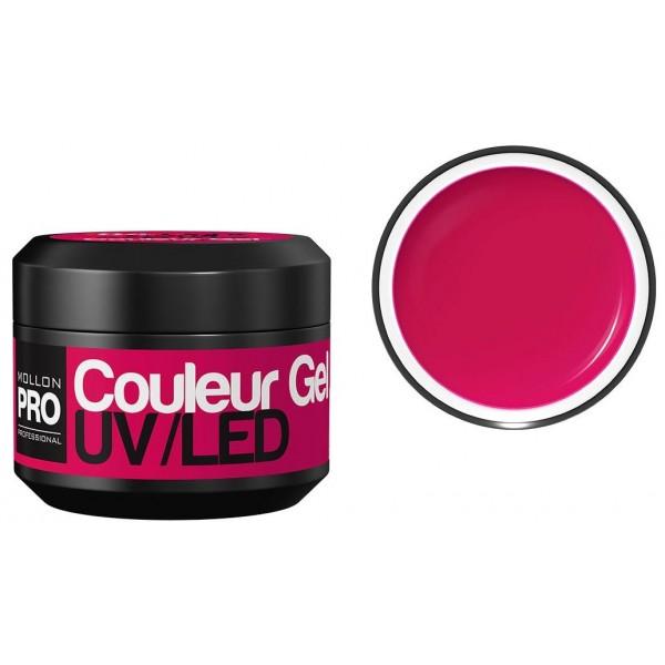 Farbe UV-Gel Mollon Pro purpurnen Pink - 16