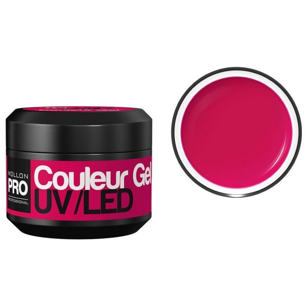 Gel UV de couleur Mollon Pro Crimson Pink - 16