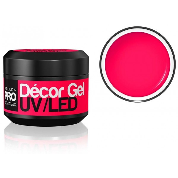 Gel de Décoration Mollon Pro Hot Pink - 03