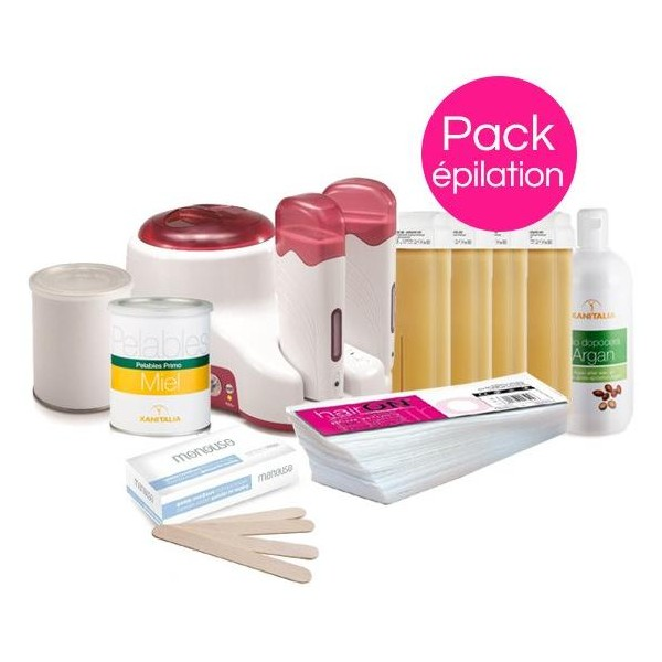 Normal Hair Removal Pack Xanitalia Pot and Roll'On