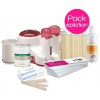 Delicate Skin Waxing Pack Pot and Roll'On Xanitalia
