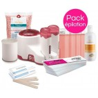 Hair Removal Pack Xanitalia Delicate Zones Pastilles and Roll'On