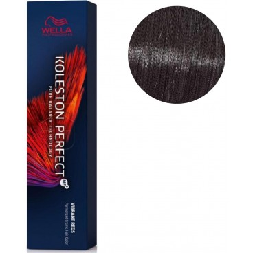 Koleston Perfect ME + Vibrant Red 33/66 intense dark purple chatain 60 ML