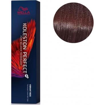 Koleston Perfect ME + Vibrant Red 55/46 intense light purple coppery chaton 60 ML