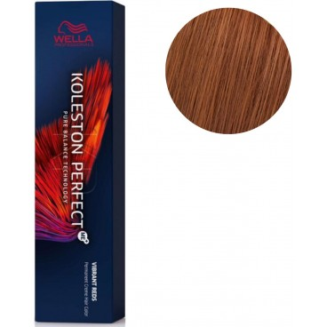 Koleston Perfect ME + Vibrant Red 6/34 dunkelblondes Goldkupfer 60 ML