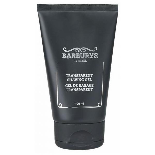 Gel de rasage transparent Barburys 100 ml