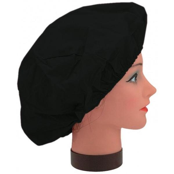 Bonnet Permanente Elastic Schwarz