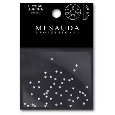 Kristalle für Nagel CRYSTAL CLEAR SS3 50 Stück