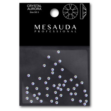 Crystals for nail CRYSTAL CLEAR SS5 50 pieces