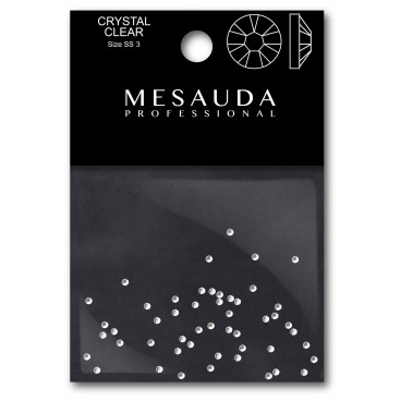 Crystals for nails CRYSTAL AURORA SS3 50 pieces