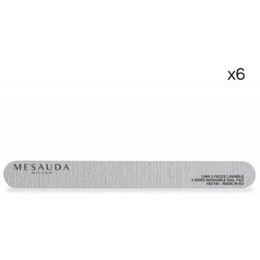 Straight File Zebra 100/180 by 6