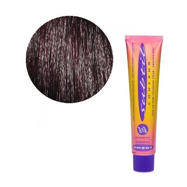 Ton crema sutil / Ton Nº 4.26 iridiscente luz roja 60 ML