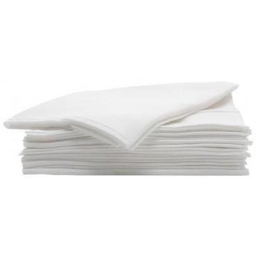 Paquets de 50 serviettes Jetables Noires super Résistantes