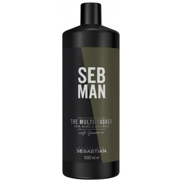 Body cleansing gel, hair and beard The Multi-Tasker Sebman 250ML