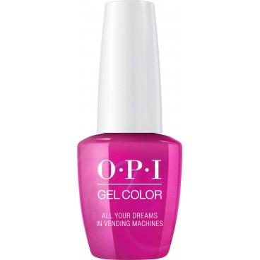 OPI Vernis Gel Color Tokyo - All Your Dreams in Vending Machines 15 ml