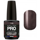 Vernis Semi-permanent Hybrid Care Mollon Pro (Par Couleur)