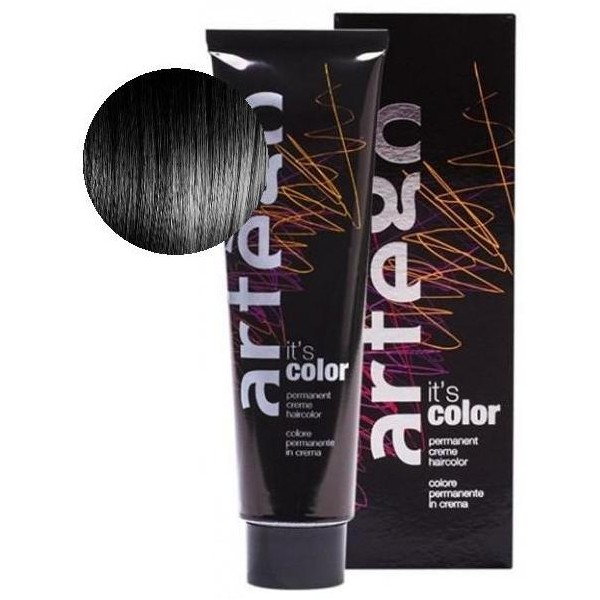 Artego color 150 ML N ° 1N Black