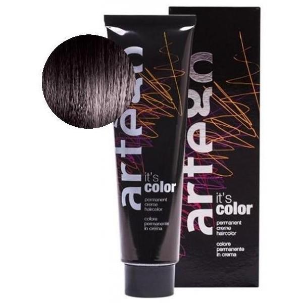 Artego Color Tube coloration 150 ml (par déclinaisons) 3/7 Chatain Foncé Marron
