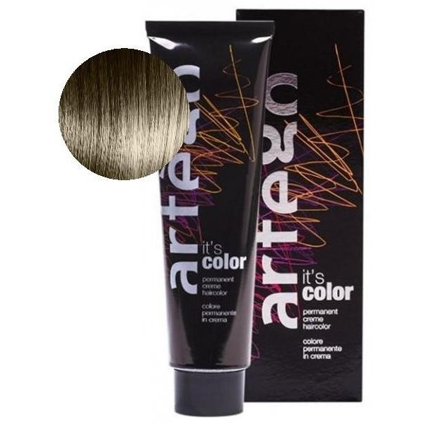 Artego Farbe 150 ml Farbe Rohr 31.5 Hellbraun Goldene Ash