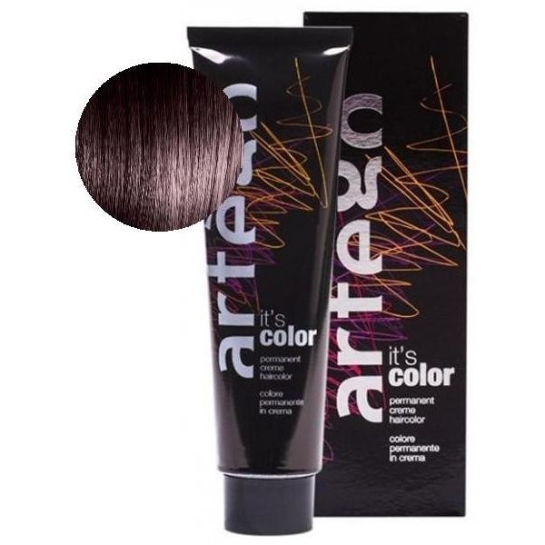Artego Color Tube coloration 150 ml 3.62 Chatain foncé rouge violet