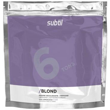 Polvo Blanqueador Sin Amoniaco Subtil Rubio 450 Grs