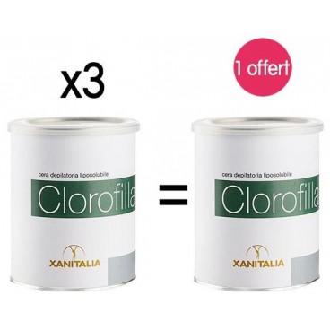 4 pots Cire Jetable Liposoluble Miel Xanitalia 800ml 1 offert