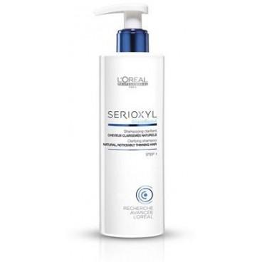 Shampooing Clarifiant Serioxyl Cheveux Affinés Colorés 1000ML