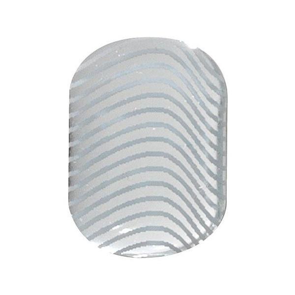 Uñas de Gel pegatinas Utimate ondas de plata Peggy Sage