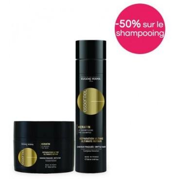 Pack Essentiel Kératin Or -50% sur le shampooing