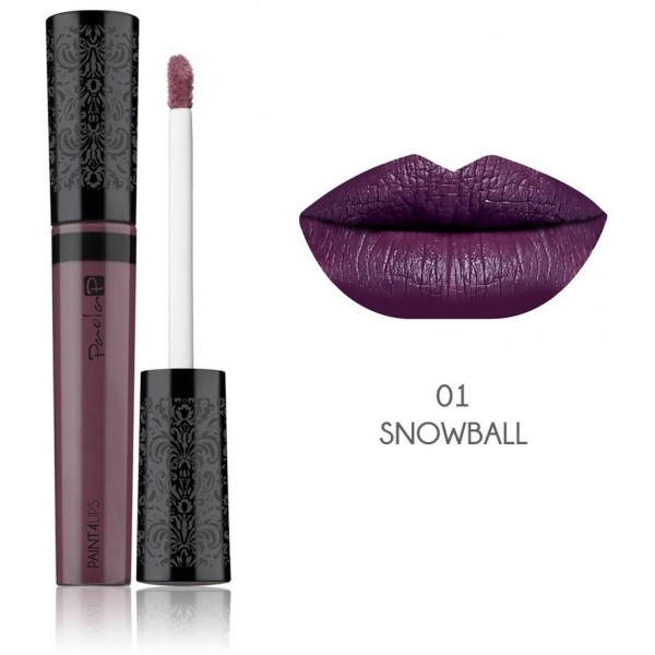 PaolaP Rossetto Paint4Lips N. 01 Snowball