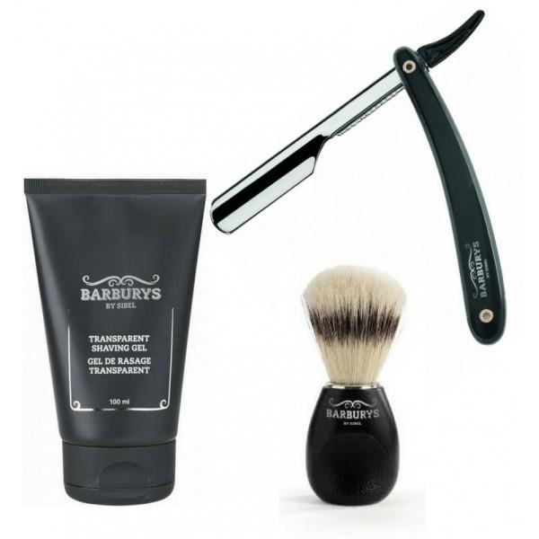 Confezione da barba Barburys