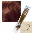 Extensions keratin balmain pack of 10 n ° 12 45 cm