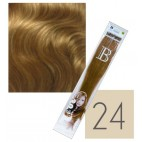 Extensions keratin balmain pack of 10 n ° 24 45 cm