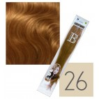Extensions keratin balmain pack of 10 n ° 26 45 cm