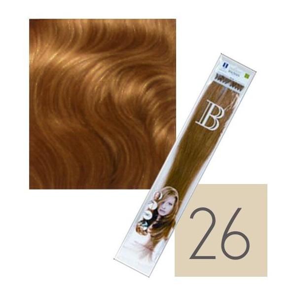 Confezione da 10 extension cheratina Balmain - N° 26 - 45 cm
