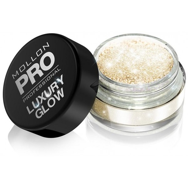 Powders Luxury Glow Mollon Pro 101 Sparkling Gold