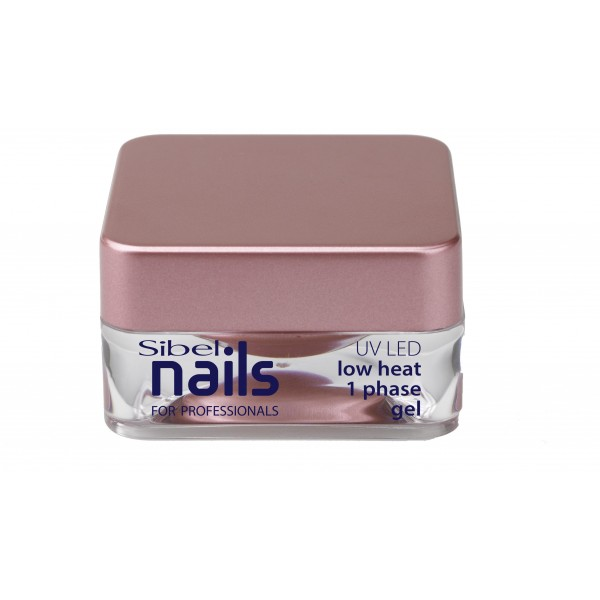 Gel 1-phase UV/Led basse température Sibel Nails 15ML