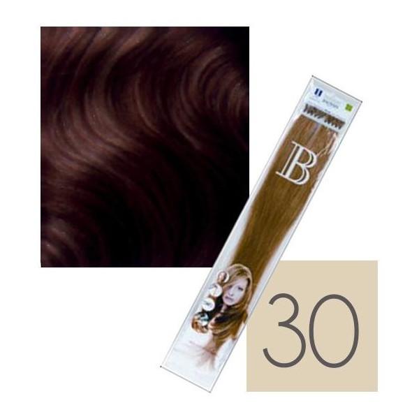 Confezione da 10 extension cheratina Balmain - N° 30 - 45 cm
