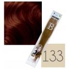 Confezione da 10 extension cheratina Balmain - N° 133 - 45 cm
