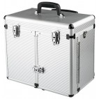 Suitcase Aluminum with Trolley