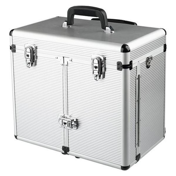 maleta de aluminio con carro Coiffure