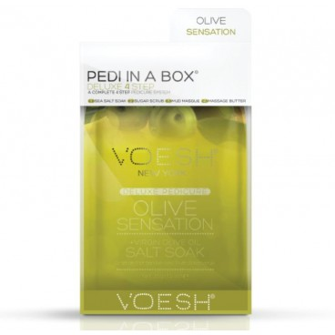 Soin des pieds Voesh - Pedi in Box Deluxe Olive