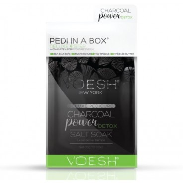 Soin des pieds Voesh - Pedi in Box Deluxe Charbon