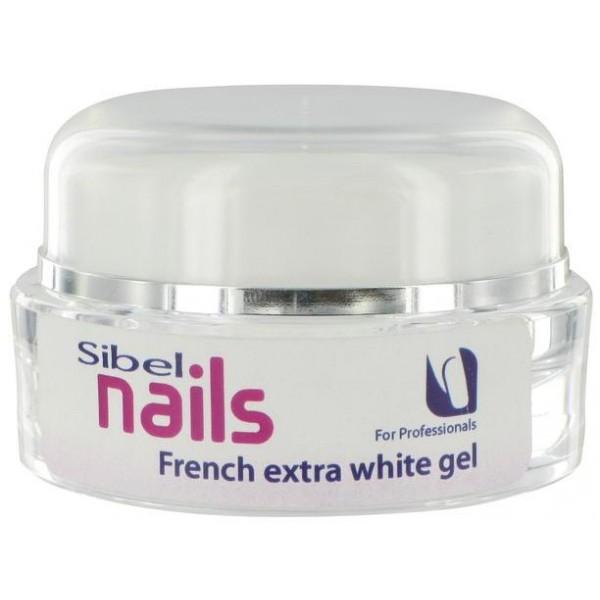 UVgel Französisch Weiß Sibel Nails Extra-15 ML