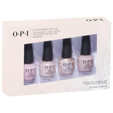 Kit of 4 mini varnishes OPI collection Tokyo