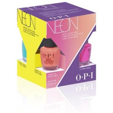 Kit de 4 mini Vernis OPI collection Néon