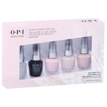 Mini Kit de 5 Vernis OPI Infinite Shine Collection Sheer