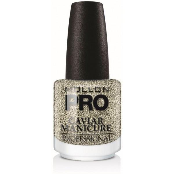 Caviar Manicure 01. Silber